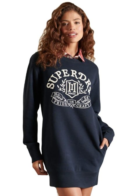 Superdry Φόρεμα Pride in Craft Crew (W8011081A)
