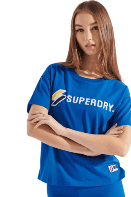 Superdry Sportstyle Graphic Boxy T-shirt (W1010496A)