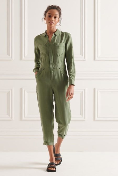 Superdry Cupro Jumpsuit (W8010957A-THY)