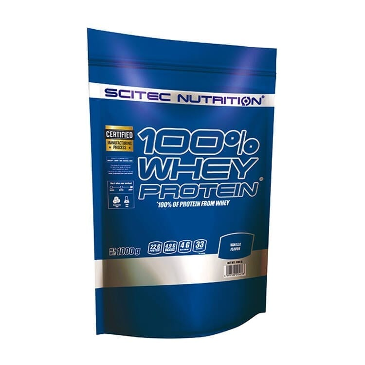 Scitec nutrition 100%Whey protein (1000gr)